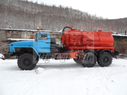 Агрегат для сбора нефтяного конденсата АКН-10 на шасси Урал-4320