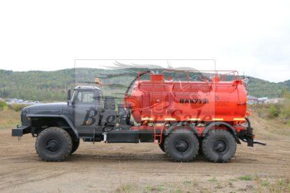 Нефтепромысловая автоцистерна АКН-10ОД УРАЛ 4320
