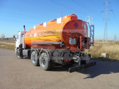 Автоцистерна бензовоз Автотопливозаправщик АЦ-16 НЕФАЗ-66052 на шасси КАМАЗ-65115