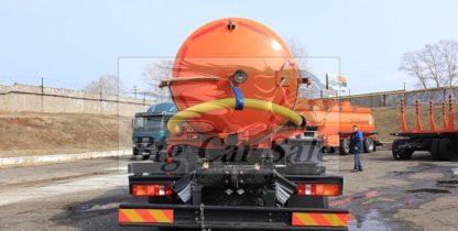 Нефтепромысловый вакуумный агрегат АКН-10 модели НЕФАЗ-66069 на шасси КАМАЗ 43118