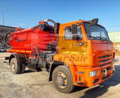 Нефтепромысловая автоцистерна АКНС-10-КАМАЗ-53605