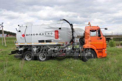 Автоцистерна нефтепромысловая АКН-15-КАМАЗ-65115