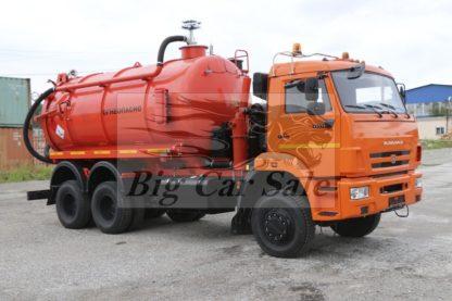 Цистерна самосвальная АКНС-15 КАМАЗ-65111 для сбора газового конденсата нефти