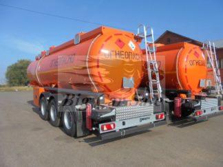 Полуприцеп-цистерна транспортная для светлых нефтепродуктов