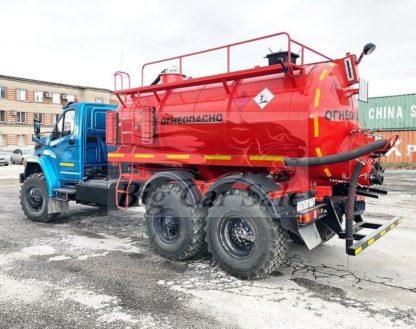 Автоцистерна нефтепромысловая АКН-10 шасси Урал-NEXT-4320