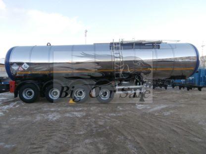 Четырехосный стальной полуприцепа нефтевоз ППЦН-31
