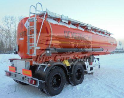 Стальная полуприцеп-цистерна ППЦ-26 для перевозки светлых нефтепродуктов