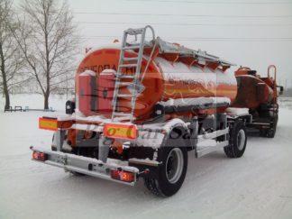 Цистерна для перевозки светлых нефтепродуктов НЕФАЗ 8602-0002011