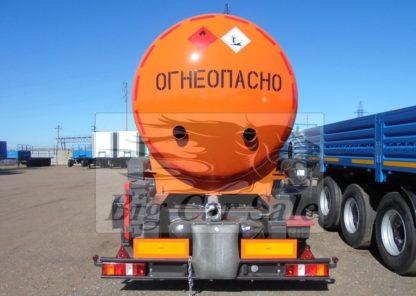 Полуприцеп-цистерна для перевозки тёмных нефтепродуктов ППЦН 24,5 НЕФАЗ 96931-04