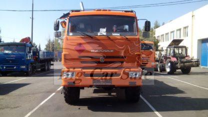 Автоцистерна заправочная АТЗ-11 НЕФАЗ 66062 на шасси КАМАЗ 43118