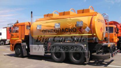 Автотопливозаправщик СЕСПЕЛЬ АТЗ 465175-15 на шасси КАМАЗ 65115